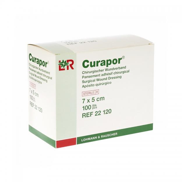 Стерильный дышащий  пластырь Curapor  7*5 (Арт REF 22 120)