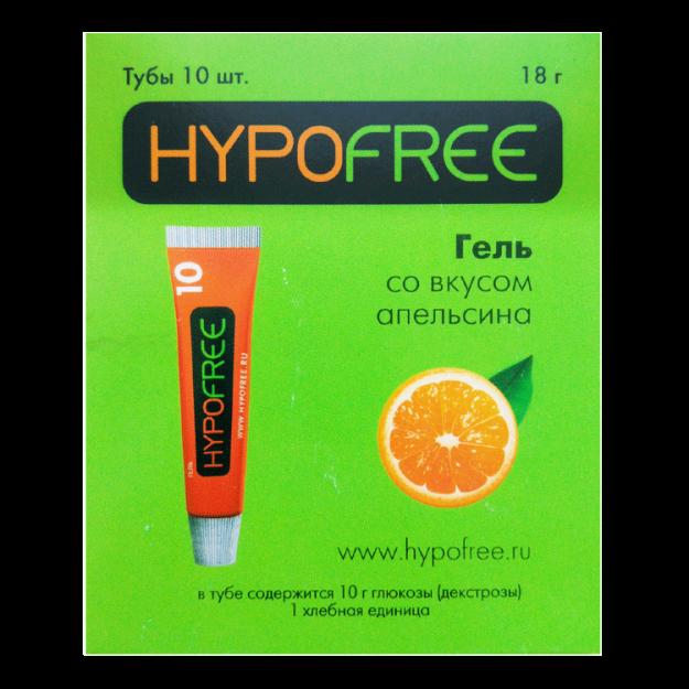 Гель Hypofree со вкусом апельсина (в пластиковой тубе)