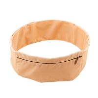 INSULA Lock- пояс для ношении помпы с молнией, бежевый, S (56-66 см)