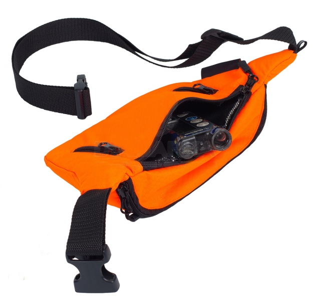ТермоСумка на пояс FREEPACK оранжевая