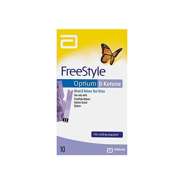 Тест-полоски на кетоны Фристайл Оптиум ( FreeStyle Optium) №10